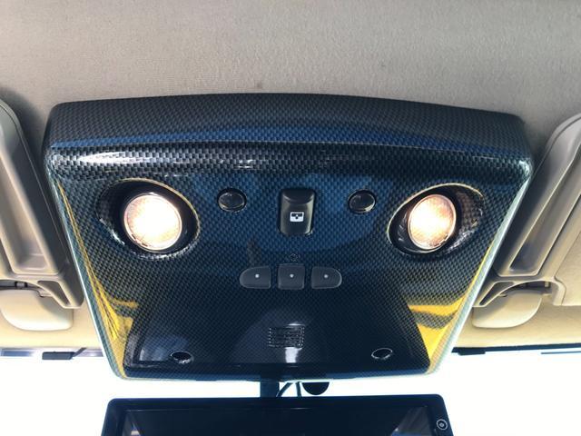タイプS 4WD 新品ナビ 1ナンバー サンルーフ 革シート バックカメラ ヘッドレストモニター エンジンスターター BOSEスピーカー 社外22AW ヒッチメンバー 4本出ワンオフマフラー ローダウン LEDライト&フォグ 社外マフラー メッキパーツ(47枚目)