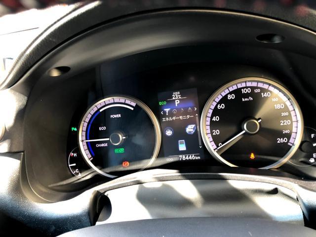 NX300h Fスポーツ 黒革メモリーパワーシート 三眼LEDライト ハンドルヒーター ナビ DVD再生 Bluetooth対応 USB接続 音楽録音 サイドカメラ バックカメラ(13枚目)