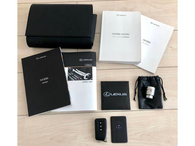 NX300h Fスポーツ 黒革メモリーパワーシート 三眼LEDライト ハンドルヒーター ナビ DVD再生 Bluetooth対応 USB接続 音楽録音 サイドカメラ バックカメラ(30枚目)