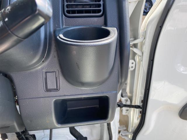 エアコン パワステ オートマ車 車検整備付き 2WD 三方開 軽トラック ホワイト(9枚目)