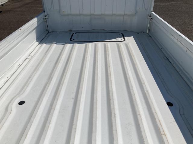 エアコン パワステ オートマ車 車検整備付き 2WD 三方開 軽トラック ホワイト(19枚目)