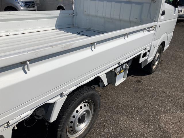 エアコン パワステ オートマ車 車検整備付き 2WD 三方開 軽トラック ホワイト(21枚目)