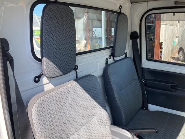 エアコン パワステ オートマ車 車検整備付き 2WD 三方開 軽トラック ホワイト(25枚目)