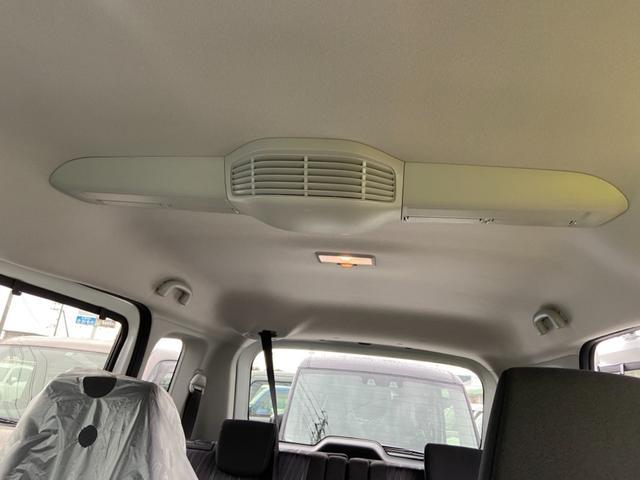ハイブリッドMZ 両側スライド片側電動スライドドア オートライト プッシュスタート オートエアコン ウォークスルー エアロ アイドリングストップ 禁煙車 登録済未使用車(25枚目)