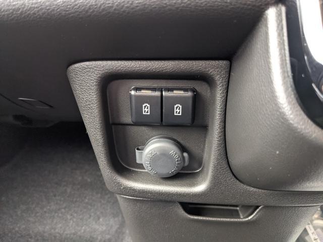 ハイブリッドMZ 両側スライド片側電動スライドドア オートライト プッシュスタート オートエアコン ウォークスルー エアロ アイドリングストップ 禁煙車 登録済未使用車(37枚目)