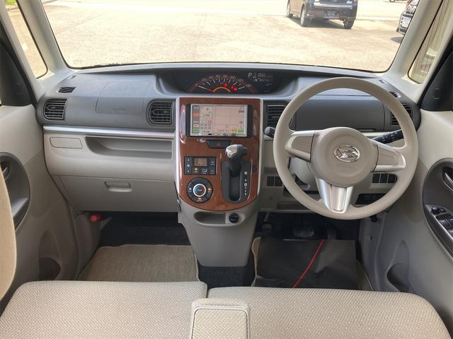 Xターボ タイヤ4本新品 メモリーナビ地デジ 片側電動スライドドア スマートキー プッシュスターター ベンチシート ETC アイドリングストップ 14インチアルミ(2枚目)