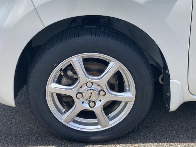 Xターボ タイヤ4本新品 メモリーナビ地デジ 片側電動スライドドア スマートキー プッシュスターター ベンチシート ETC アイドリングストップ 14インチアルミ(25枚目)