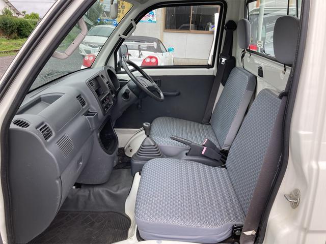 エアコン・パワステ スペシャル 4WD AC パワステ 5速MT 三方開 車検令和5年5月 ヘッドライトレベライザー 最大積載量350kg(6枚目)