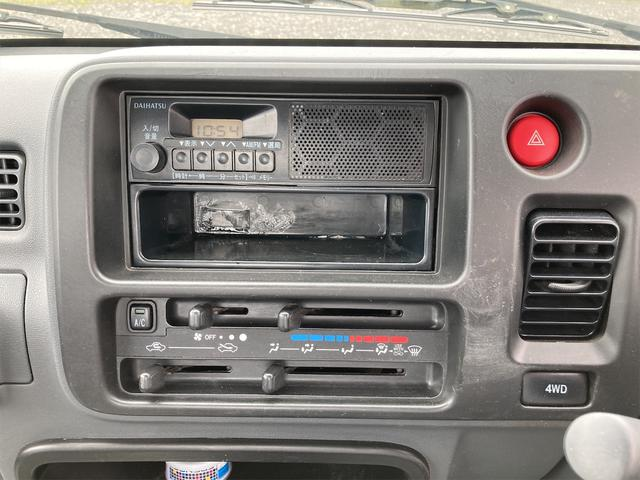 エアコン・パワステ スペシャル 4WD AC パワステ 5速MT 三方開 車検令和5年5月 ヘッドライトレベライザー 最大積載量350kg(11枚目)