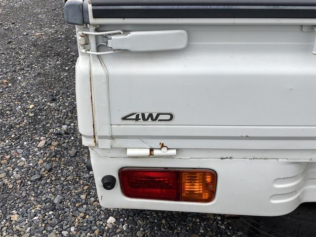 エアコン・パワステ スペシャル 4WD AC パワステ 5速MT 三方開 車検令和5年5月 ヘッドライトレベライザー 最大積載量350kg(22枚目)