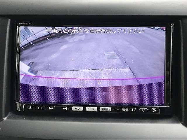 バンパー下部の目立たない位置でバックカメラがあります。確認しづらい後方の障害物をバックモニターに表示されるのでより後方の視界の確保が可能です。