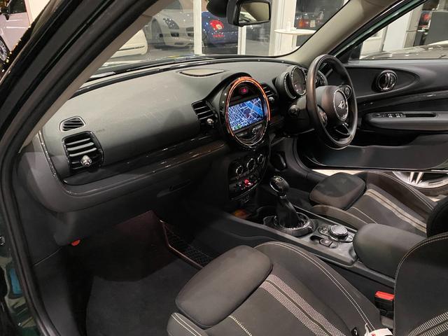 クーパーS クラブマン ブリティッシュレーシンググリーン 純正ナビ バックカメラ ミラー内蔵ETC LEDヘッドライト クルーズコントロール Bluetoothオーディオ 純正17inchAW(18枚目)
