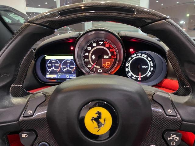 F1 DCT 特注カラーROSSO CALIFORNIA カーボンファイバーステアリング+LED フロントカメラ リアカメラ ROSSOブレーキキャリパー DAYTONA STYLEシート 20インチ鍛造ホイール(29枚目)