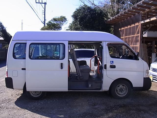 福祉車輛 スローパー 10人乗り 両側スライドドア(11枚目)
