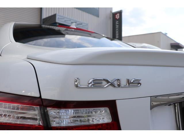 レクサス LS LS460 アルカンターラルーフ SR 黒皮 HDD 左H