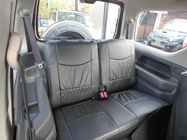 スズキ ジムニー 4WD ターボ 2inリフトUP 新品レザー調シートカバー
