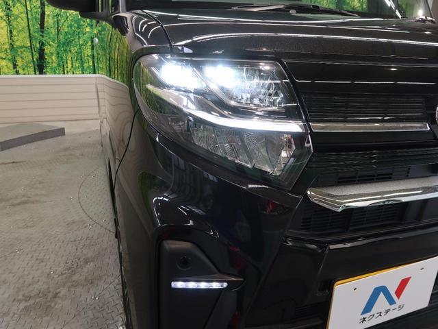 カスタムRS スマートアシスト ターボ 禁煙 パワースライドドア LEDヘッドライト オートライト 純正15インチAW 革巻きステアリングホイール オートエアコン(24枚目)