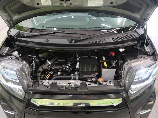 カスタムRS スマートアシスト ターボ 禁煙 パワースライドドア LEDヘッドライト オートライト 純正15インチAW 革巻きステアリングホイール オートエアコン(50枚目)