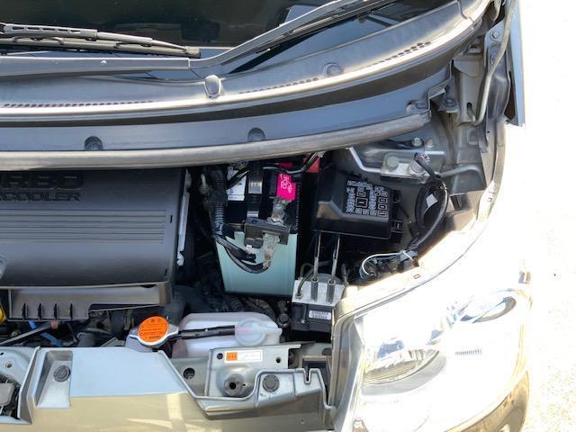 カスタム RS ターボ キーフリー オートエアコン 16インチ純正アルミ HIDヘッドライト フォグ(48枚目)