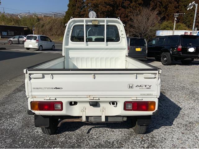 4WD 荷台と背面塗装仕上げ済み タイミングベルトH29.1.17交換済み エアコンレス(7枚目)