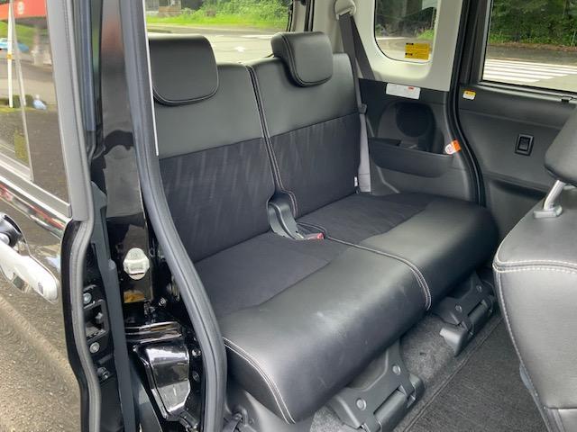 カスタムRS トップエディションSAIII 両側パワースライドドア LEDヘッドライト LEDフォグ オートライト オートハイビーム オートエアコン スマートアシスト 運転席シートヒーター キーフリー オート電動格納ミラー ターボ(14枚目)