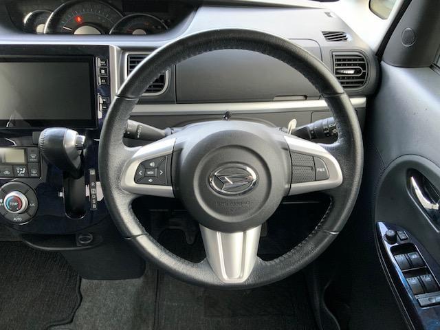 カスタムRS トップエディションSAIII 両側パワースライドドア LEDヘッドライト LEDフォグ オートライト オートハイビーム オートエアコン スマートアシスト 運転席シートヒーター キーフリー オート電動格納ミラー ターボ(27枚目)