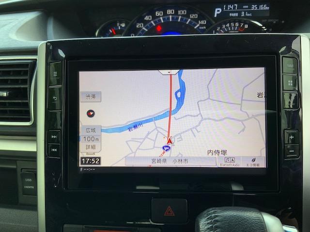 カスタムRS トップエディションSAIII 両側パワースライドドア LEDヘッドライト LEDフォグ オートライト オートハイビーム オートエアコン スマートアシスト 運転席シートヒーター キーフリー オート電動格納ミラー ターボ(35枚目)