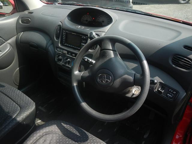 トヨタ ファンカーゴ X 電格ミラー フルフラットシート