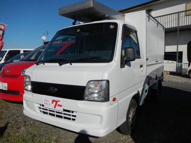 スバル サンバートラック ハコ型 5速MT エアコン パワステ