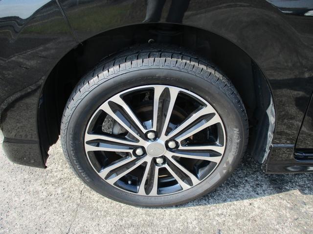タイヤおろしたて