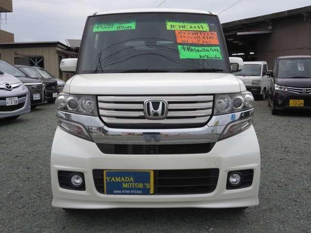 「ホンダ」「N-BOXカスタム」「コンパクトカー」「熊本県」の中古車2