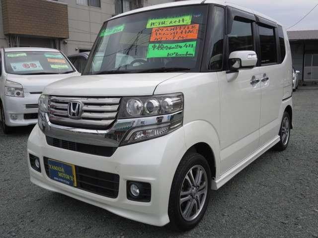 「ホンダ」「N-BOXカスタム」「コンパクトカー」「熊本県」の中古車3
