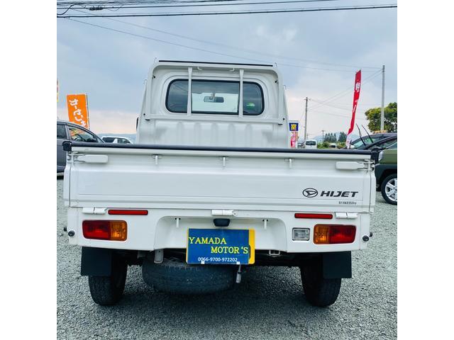 スタンダード 4WD エアコン パワステ ドアバイザー フロアマット 3方開き ライトレベライザー 荷台ゴムマット(8枚目)