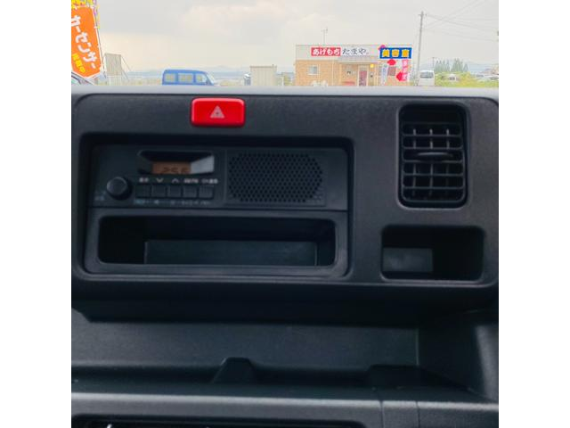 スタンダード 4WD エアコン パワステ ドアバイザー フロアマット 3方開き ライトレベライザー 荷台ゴムマット(16枚目)