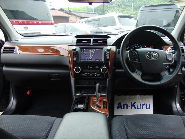 トヨタ カムリ ハイブリッド Gパッケージ ワンオーナー HDDナビ Bカメ