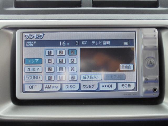 トヨタ bB ナビTV バックモニター ETC