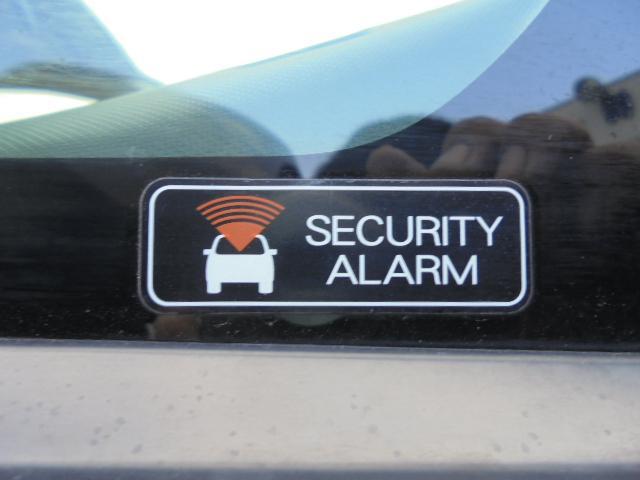 セキュリティアラーム(盗難防止装置)付きなので、安心です。
