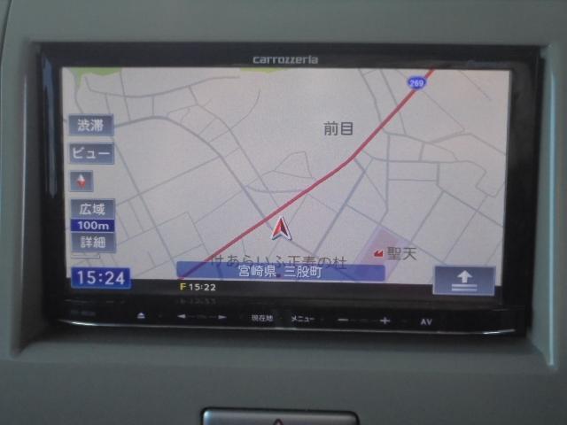 カーナビ:Pioneer製 AVIC-MRZ05 メモリーナビワンセグTV。