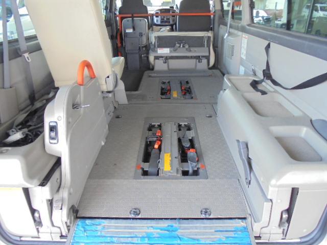 ディーゼル 車イス輸送車 4WD 左オートクロジャードア(39枚目)