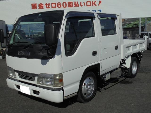 いすゞ エルフトラック Wキャブダンプ 2.0t
