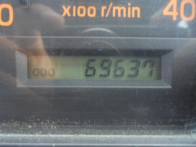 走行69,700Kmです。