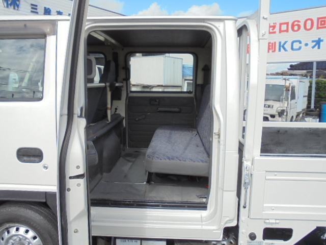 いすゞ エルフトラック 1.25t Wキャブ 6人乗り 5速ミッション