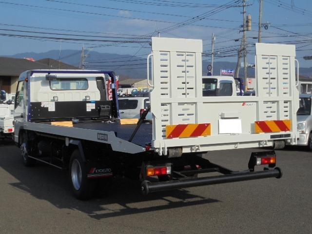 グー鑑定車 3.3t フラトップ積載車 ラジコン(9枚目)