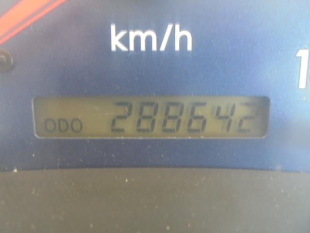 走行288,642Kmです。