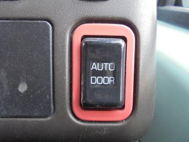 自動ドア付き。