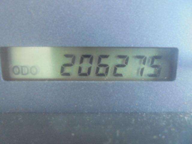 走行206,275キロ。