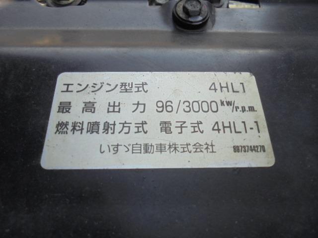 原動機の型式:4HL1。