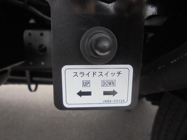 3.25t ディーゼル フラトップ積載車 衝突被害軽減ブレーキサポート 車線逸脱警報装置 車両安定制御装置 上物ラジコン付き メッキパーツ キーレス 5速マニュアル車(40枚目)