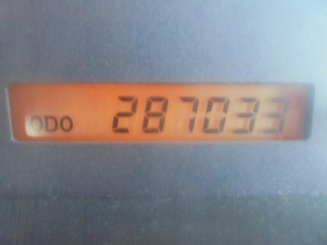 走行287,033キロ。
