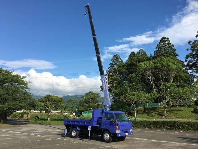 マツダ タイタントラック 高床ワイド タダノ5段ブーム フックインワイドキャビン